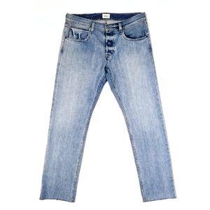 NWT Hudson Raw Hem Straight Jeans 32W